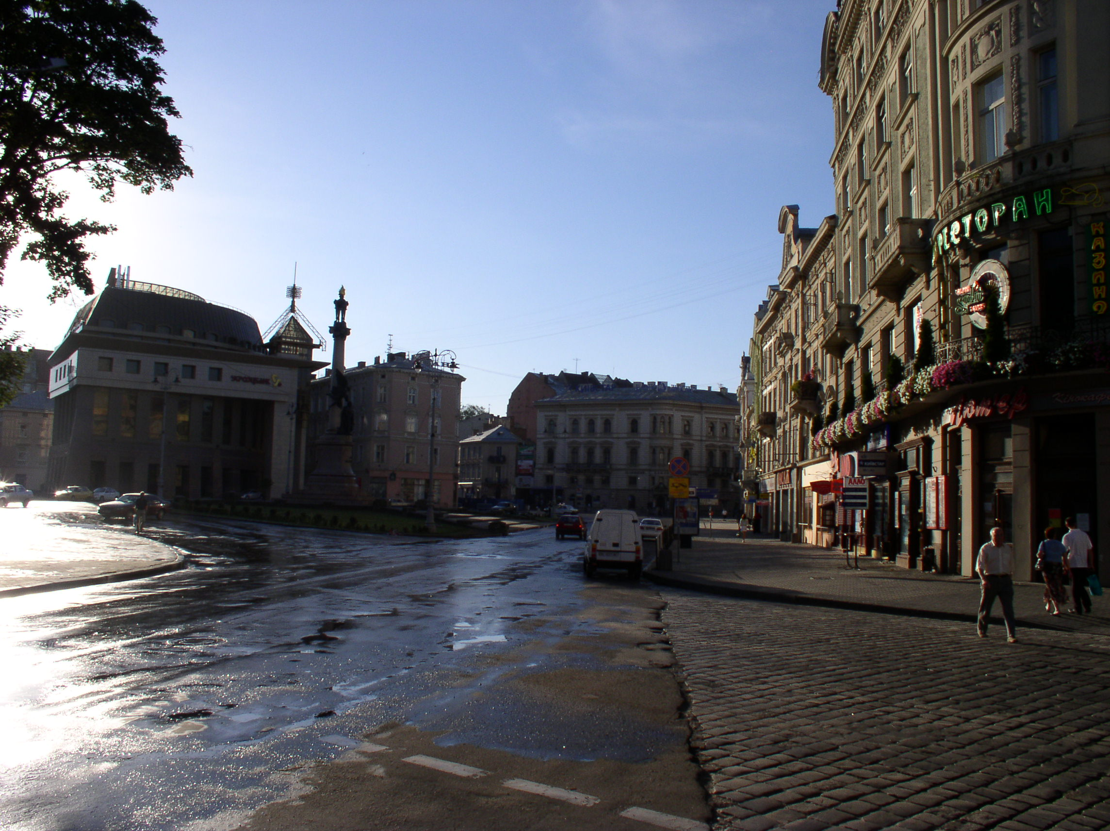 Lviv Ukraine  City new picture : Ukraine Lviv Streets 7 Wikimedia Commons
