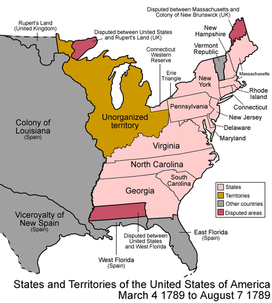 United States 1789 03 To 08 Easternjpg Wikipedia The