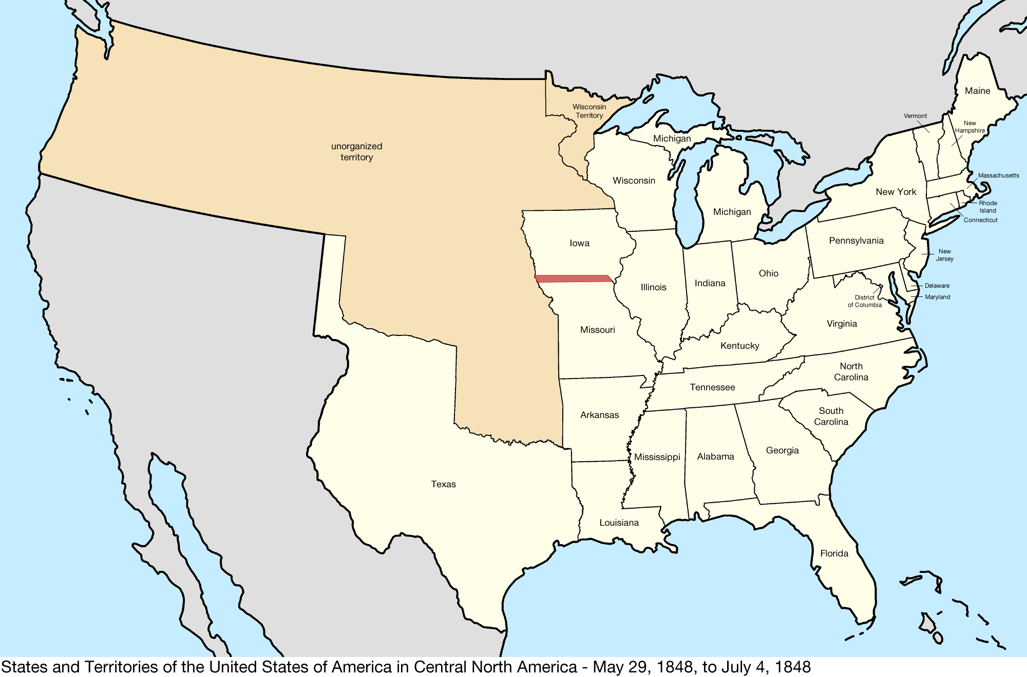 file united states central map 1848 05 29 to 1848 07