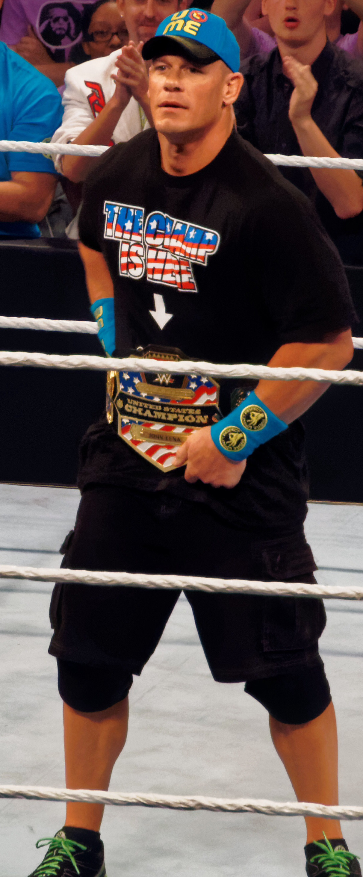 John cena - File United States Champion John Cena 2015 2 Jpg