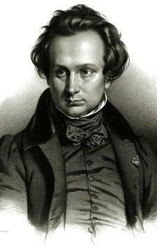 Victor Hugo de joven.
