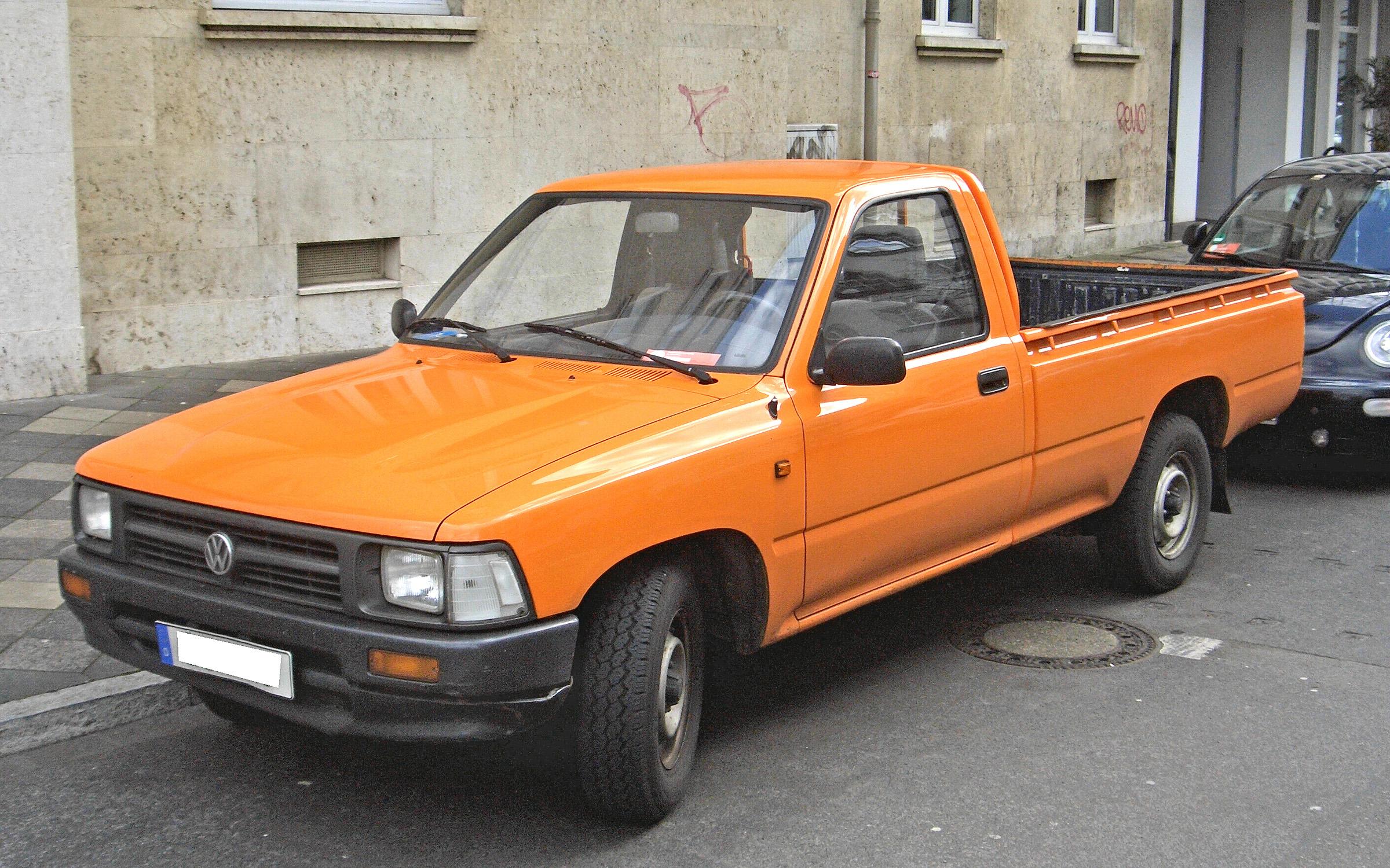 vw pickup typ 1