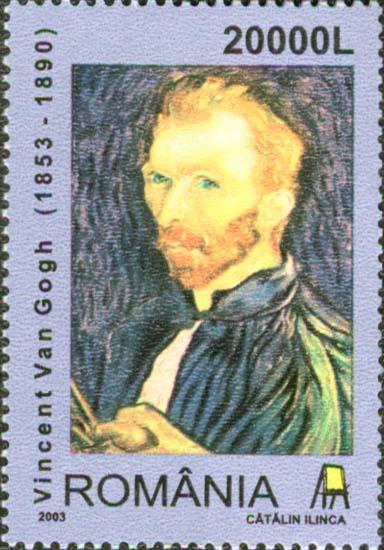 File:Van Gogh, 2003 Romania stamp.jpg