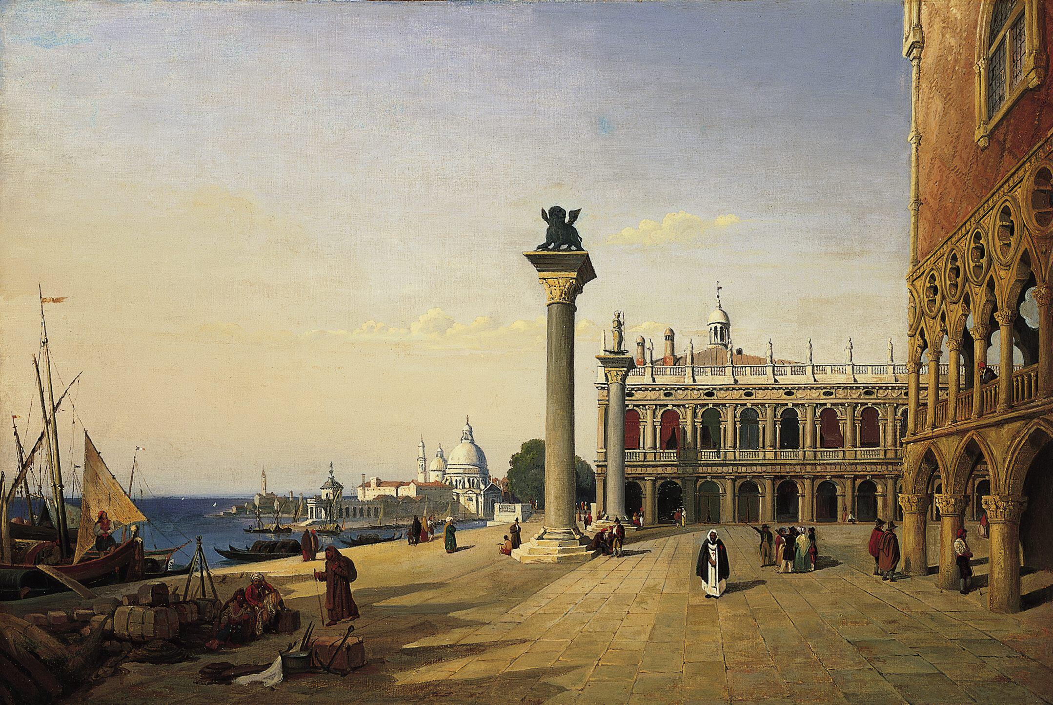 Venise, La Piazzetta San Marco, 1835