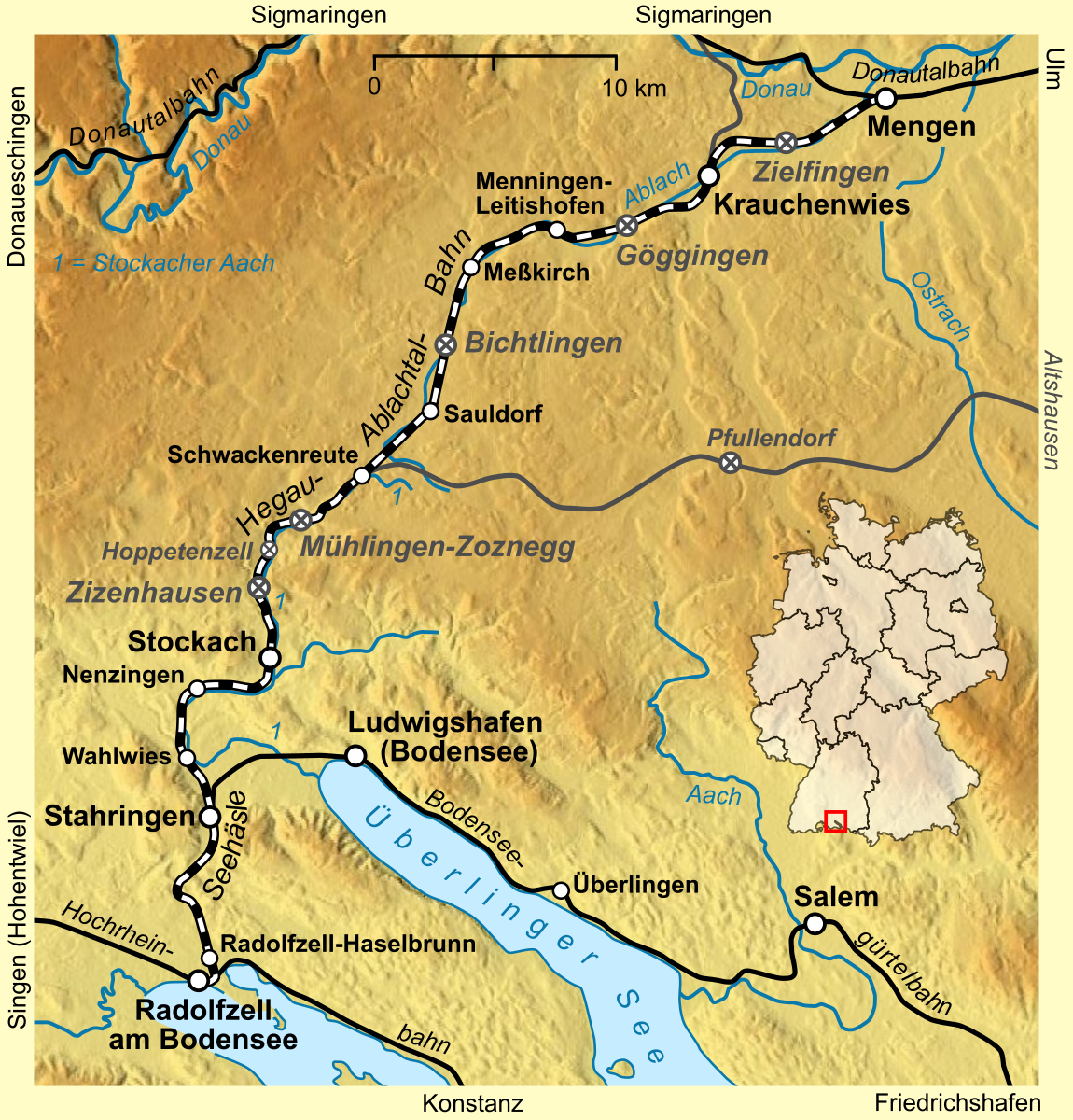 Radolfzell Mengen Railway Wikipedia
