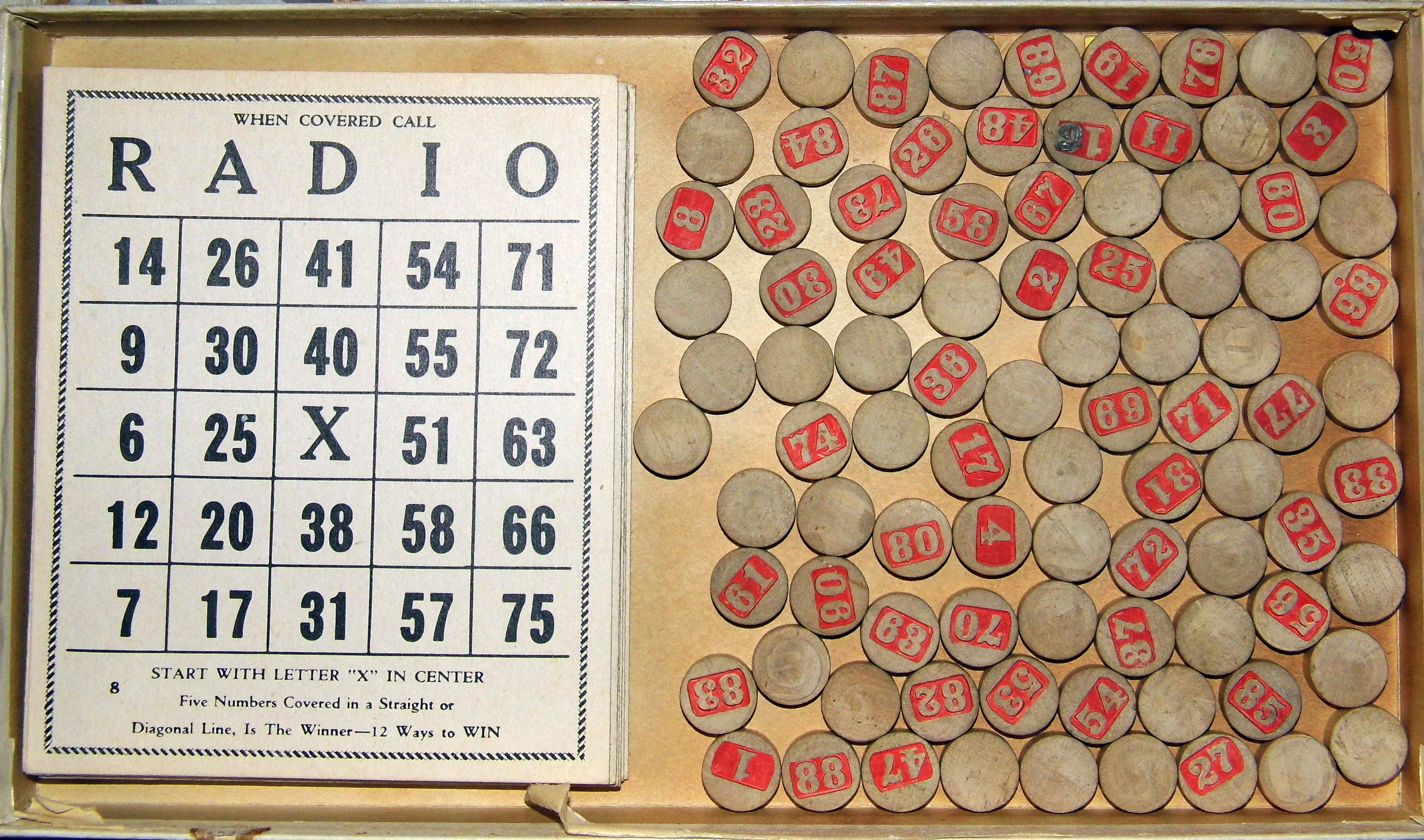 Vintage Bingo Games 72