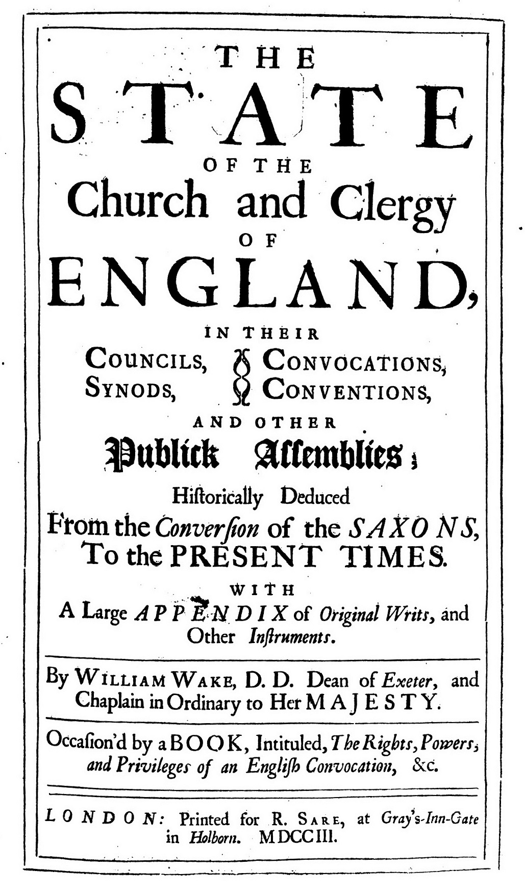 Array - file william wake the state of the church and clergy of      rh   commons wikimedia org