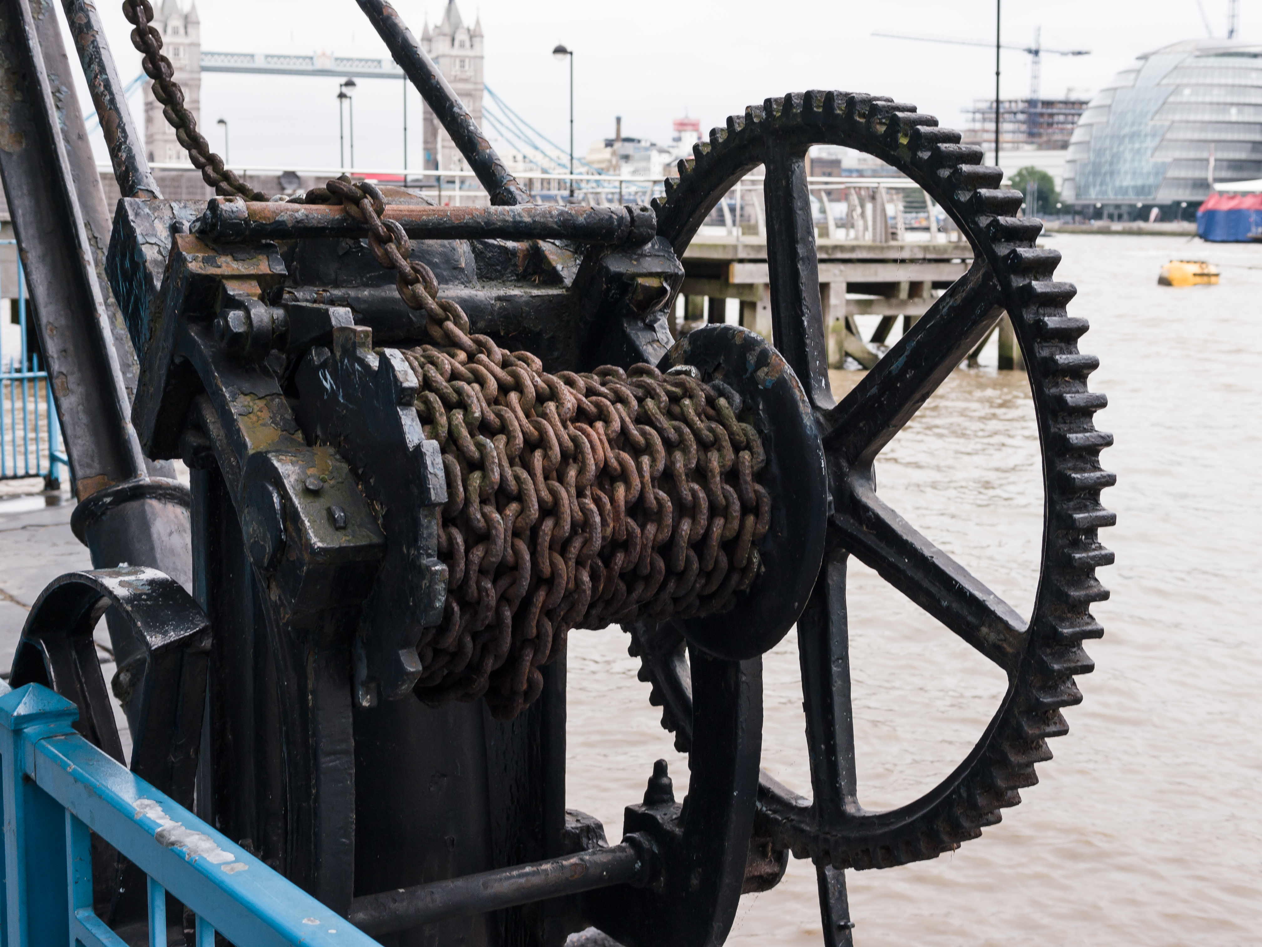 winch, Heavy Equipment Used in Construction