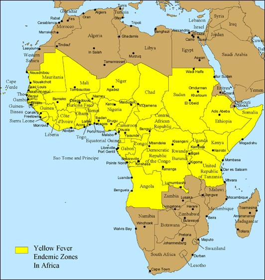 Range in Africa