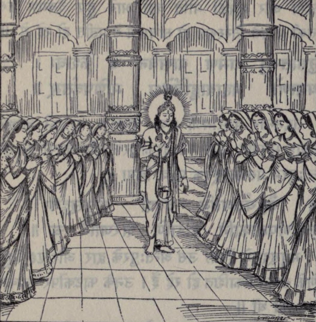 Junior wives of Krishna - Wikipedia