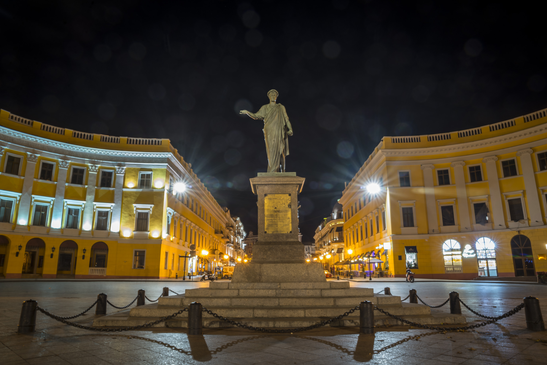 Памятник дюку де Ришельё — Википедия