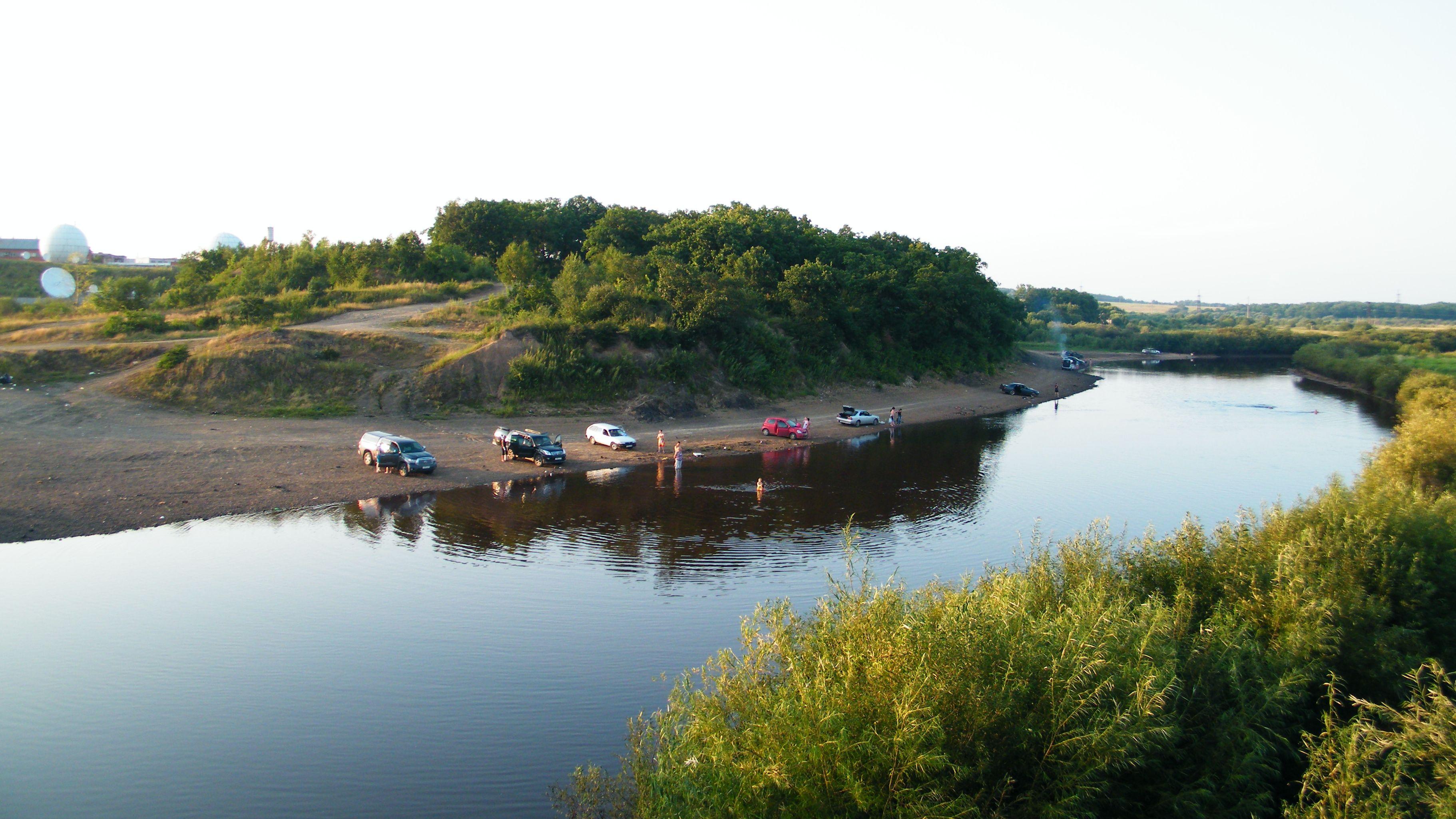 река обор рыбалка