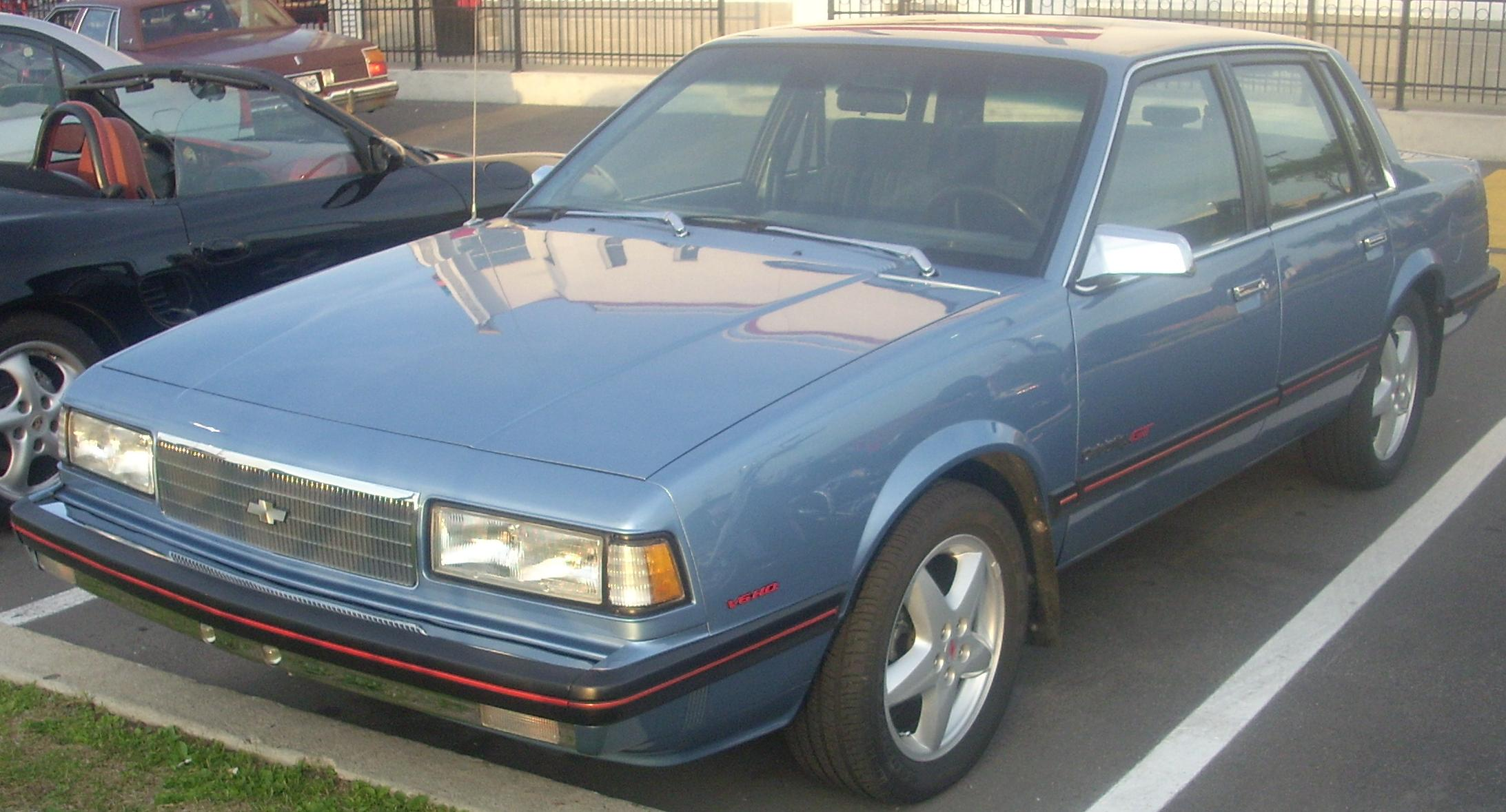 1987 Chevrolet Celebrity Reviews - Carsurvey.org