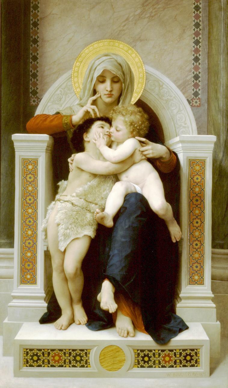 Description: Virgin, Jesus, and John the Baptist.jpg