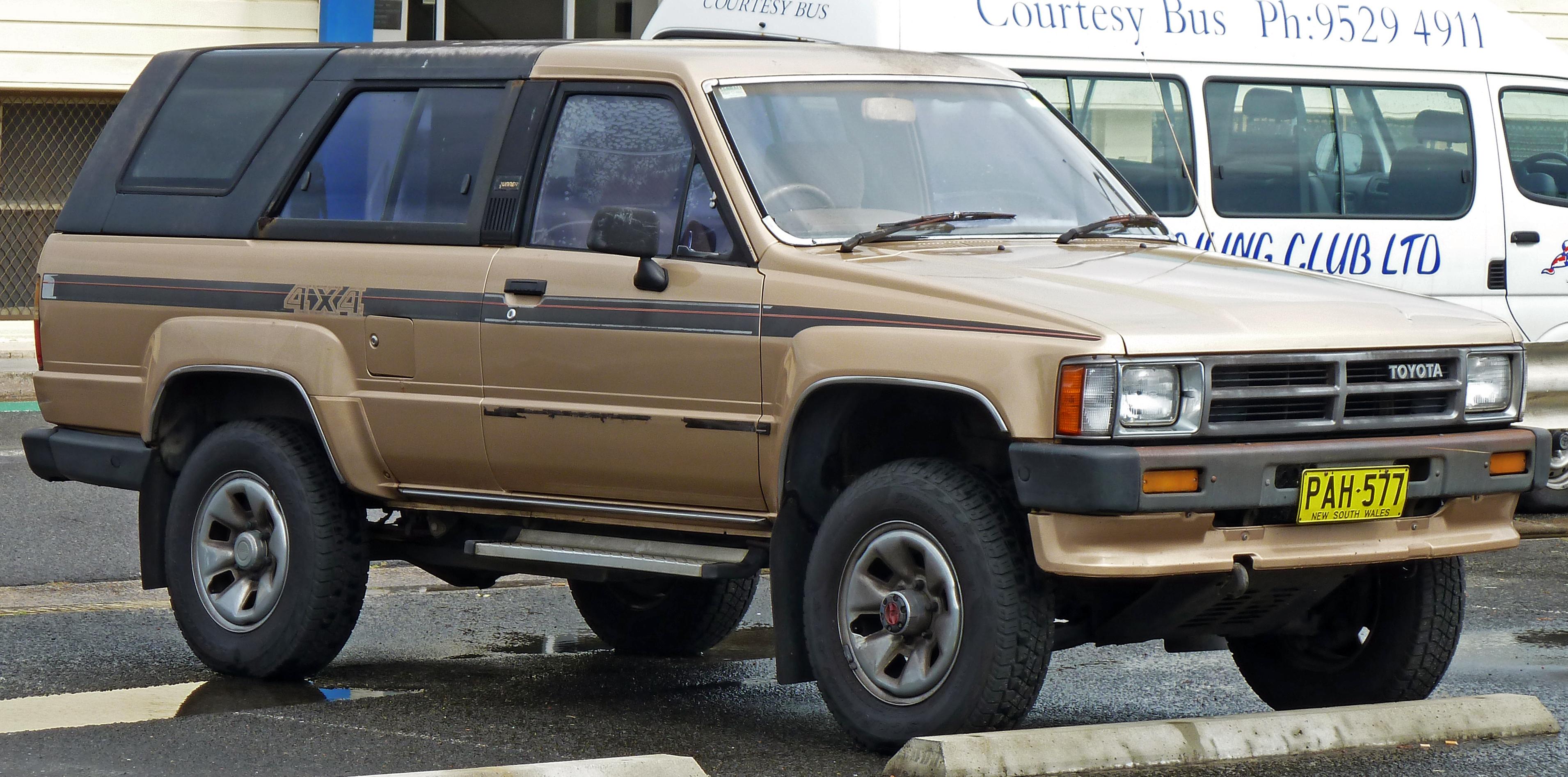 1989 Toyota 4Runner SR5