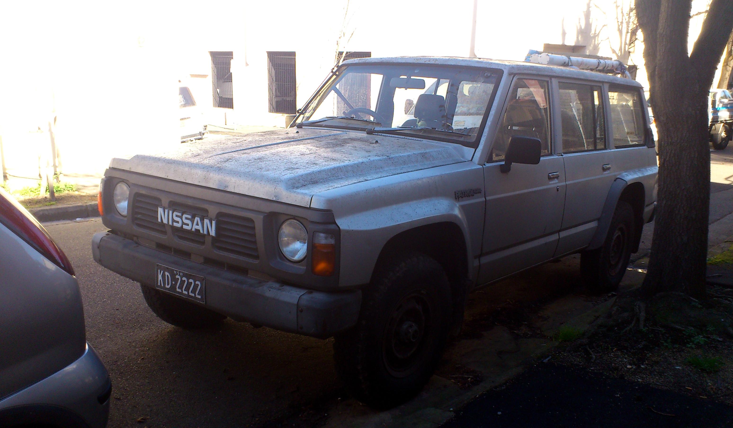 Nissan patrol gu specs