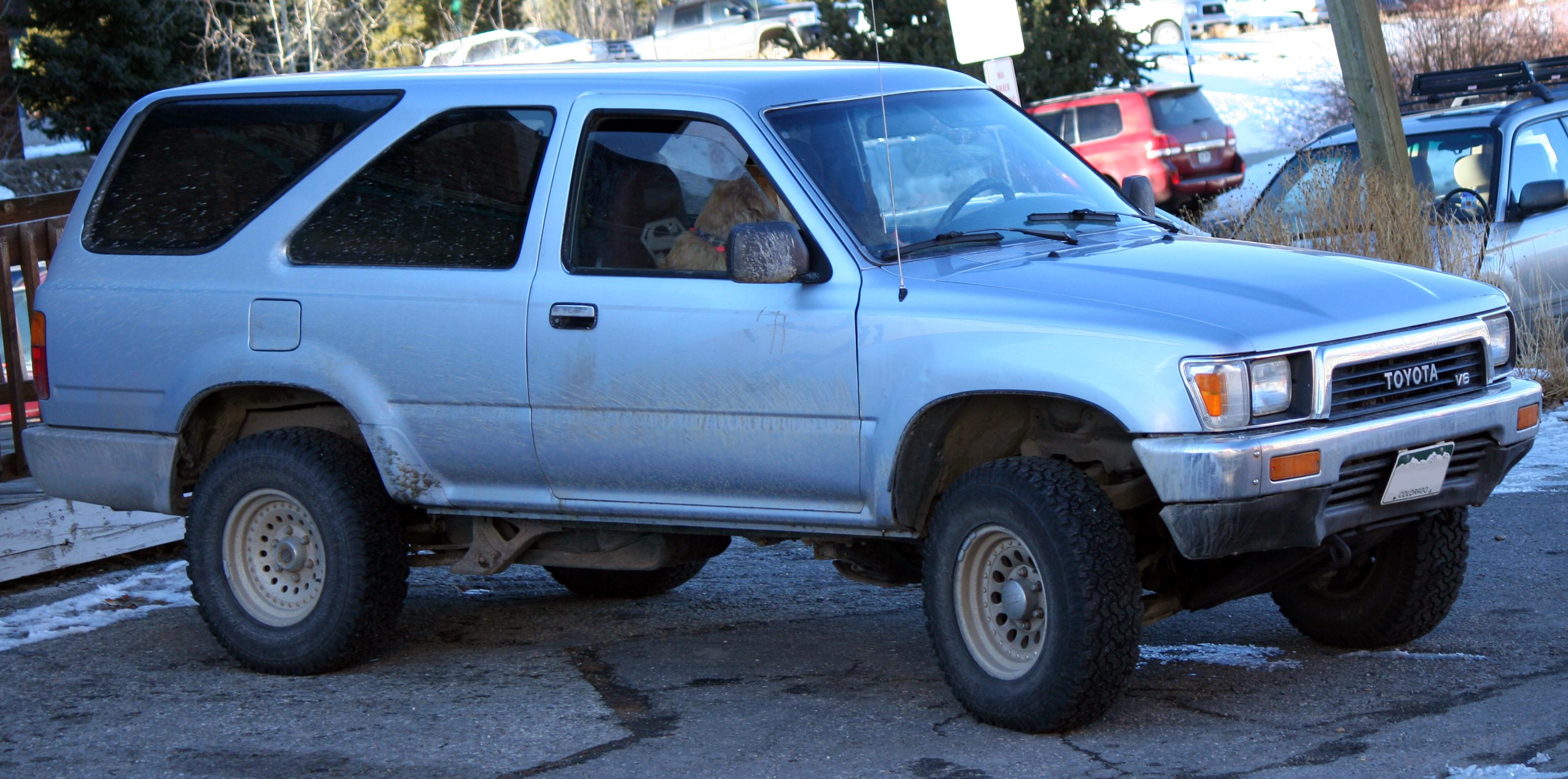 Light blue toyota pickup for 1990 toyota 4runner rear window motor