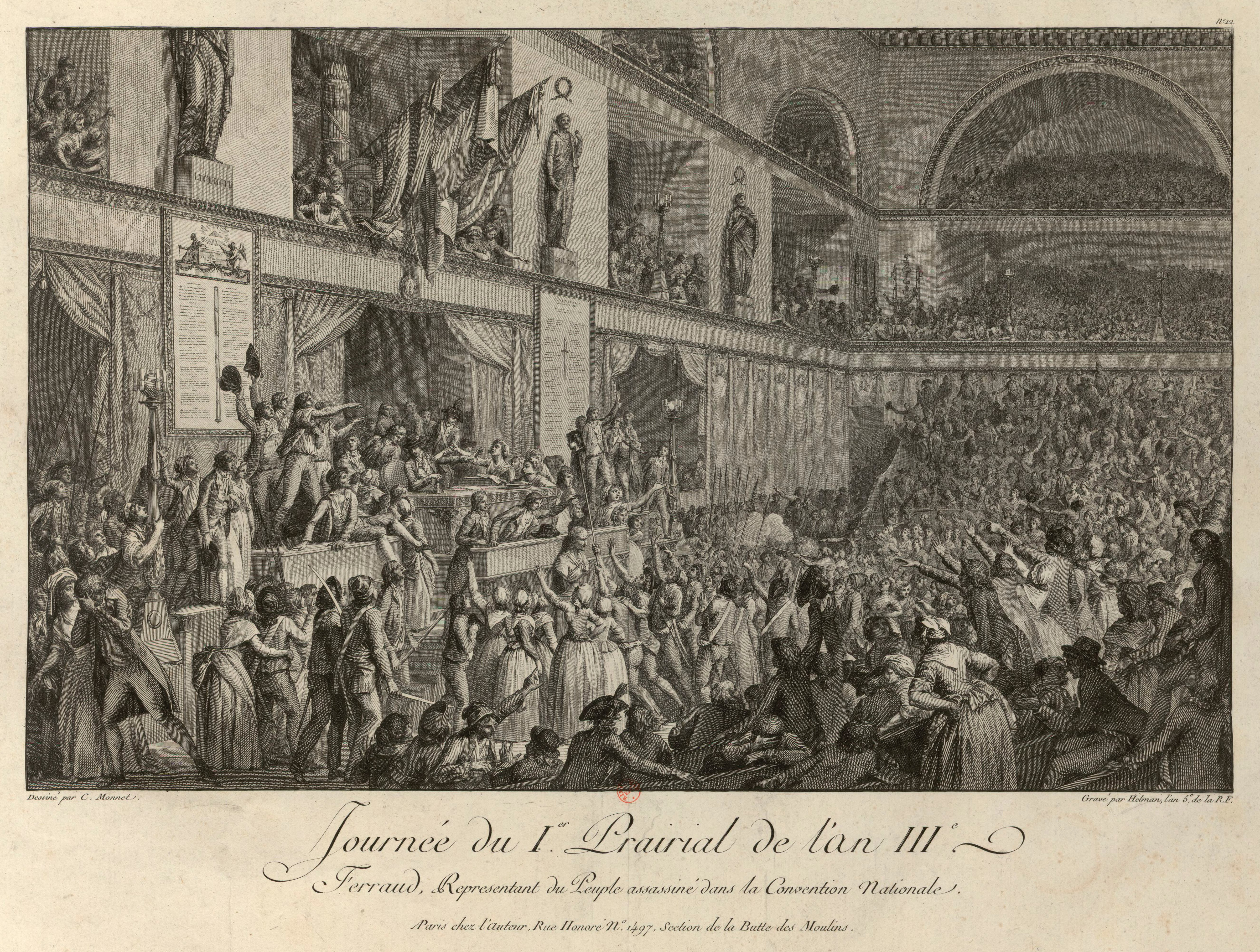 149 Rue Saint Honoré revolt of 1 prairial year iii - wikipedia