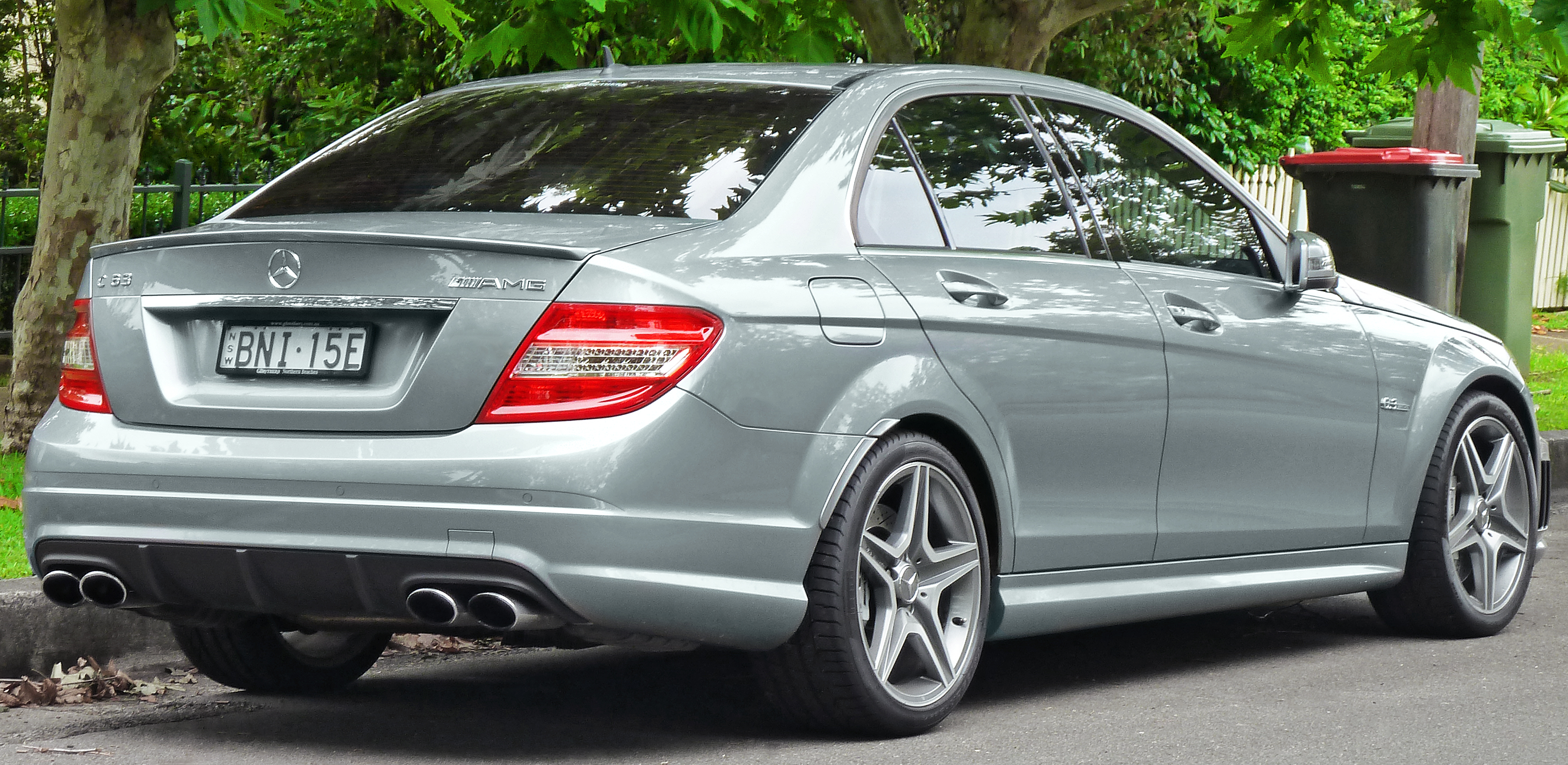 File 2010 mercedes benz c 63 amg w 204 sedan 2011 11 18 for What is the cheapest mercedes benz