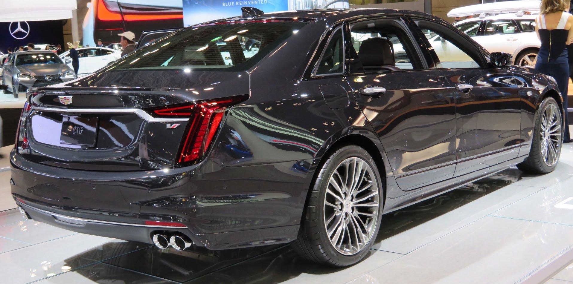 2018 Cts Cadillac >> File:2019 Cadillac CT6 V-Sport rear 4.2.18.jpg - Wikimedia Commons