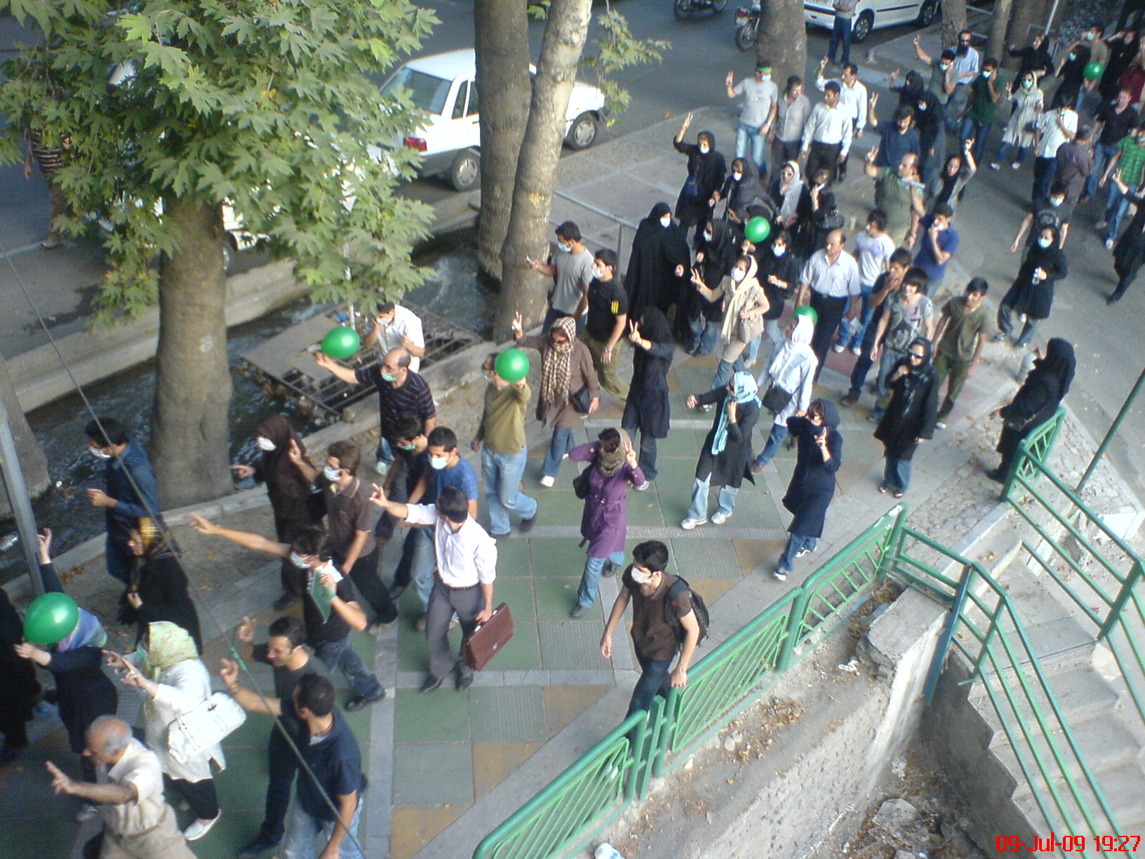 iran student protests  july 1999