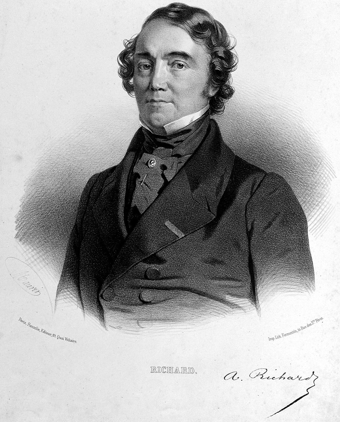 Depiction of Achille Richard