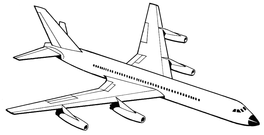 Line Drawing Jet : File airplane psf wikimedia commons