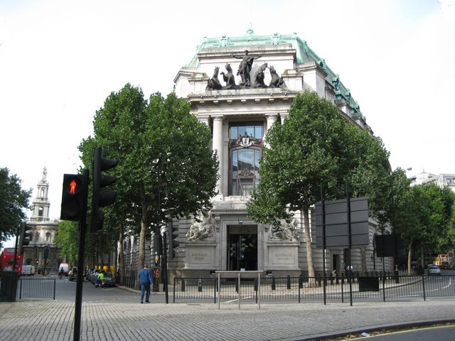 File:Aldwych, Australia House, The Strand, WC2   Geograph.org.