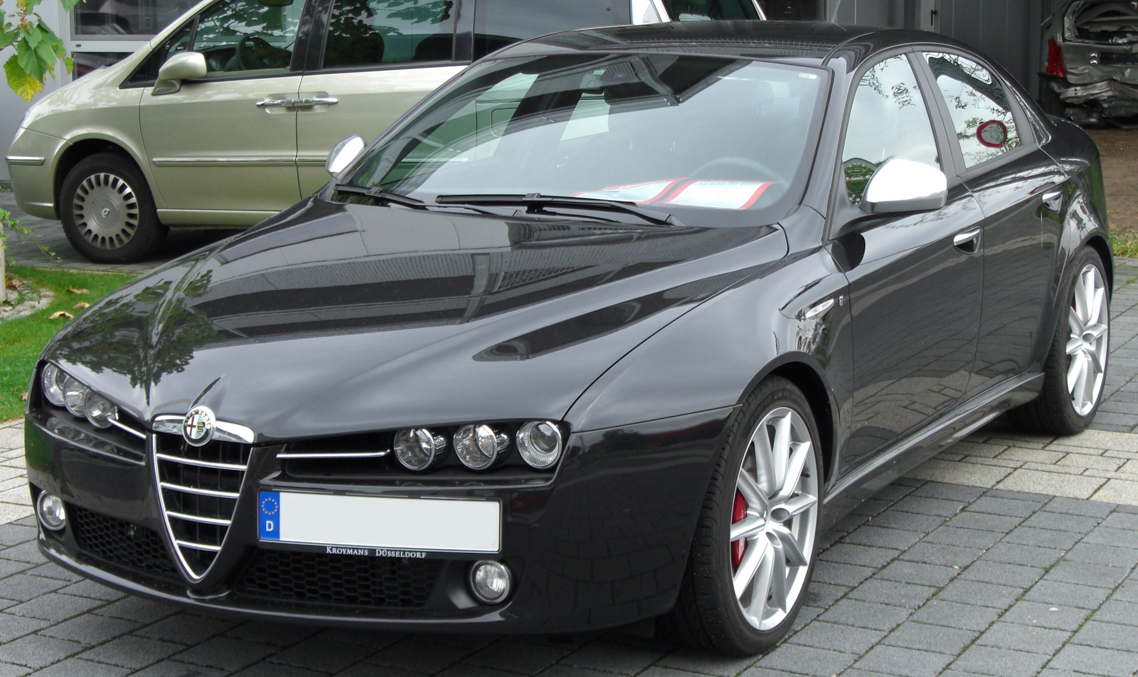 file alfa romeo 159 ti front jpg wikimedia commons. Black Bedroom Furniture Sets. Home Design Ideas