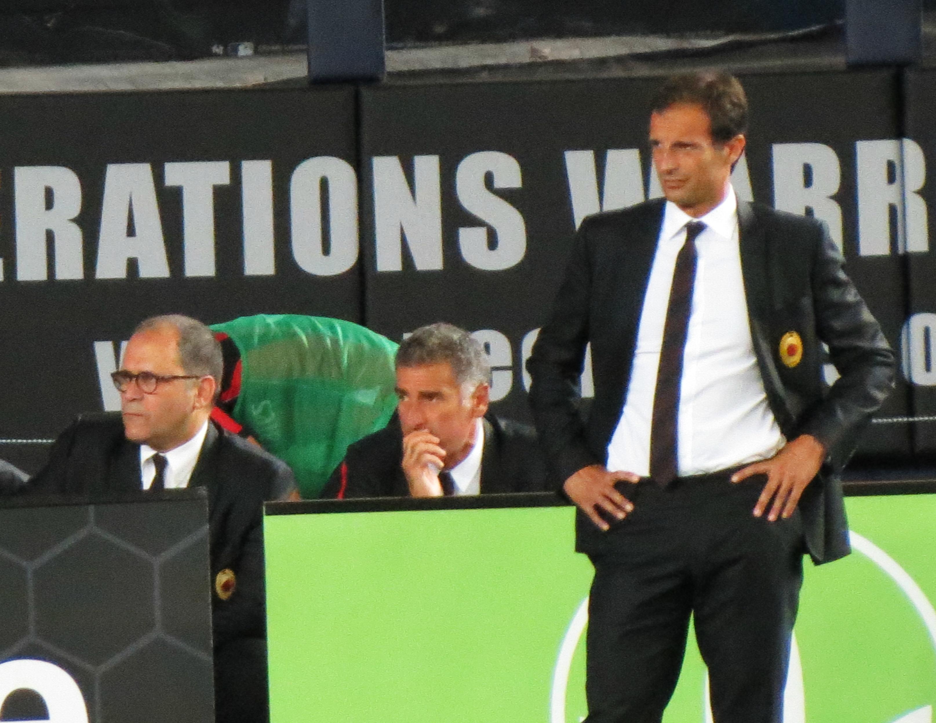 File:Allegri, Milan vs Real Madrid, 2012.jpg - Wikimedia Commons
