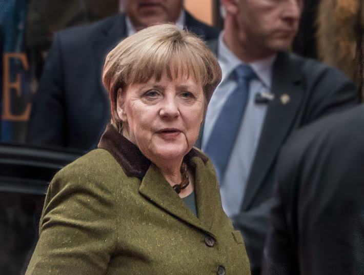Angela Merkel in Stockholm 2017-2 (cropped)