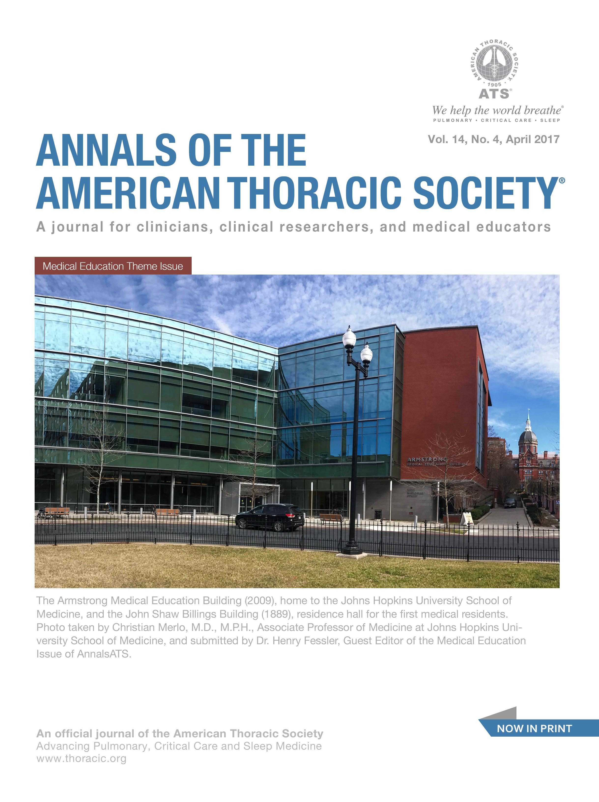 Annals of the American Thoracic Society - Wikipedia
