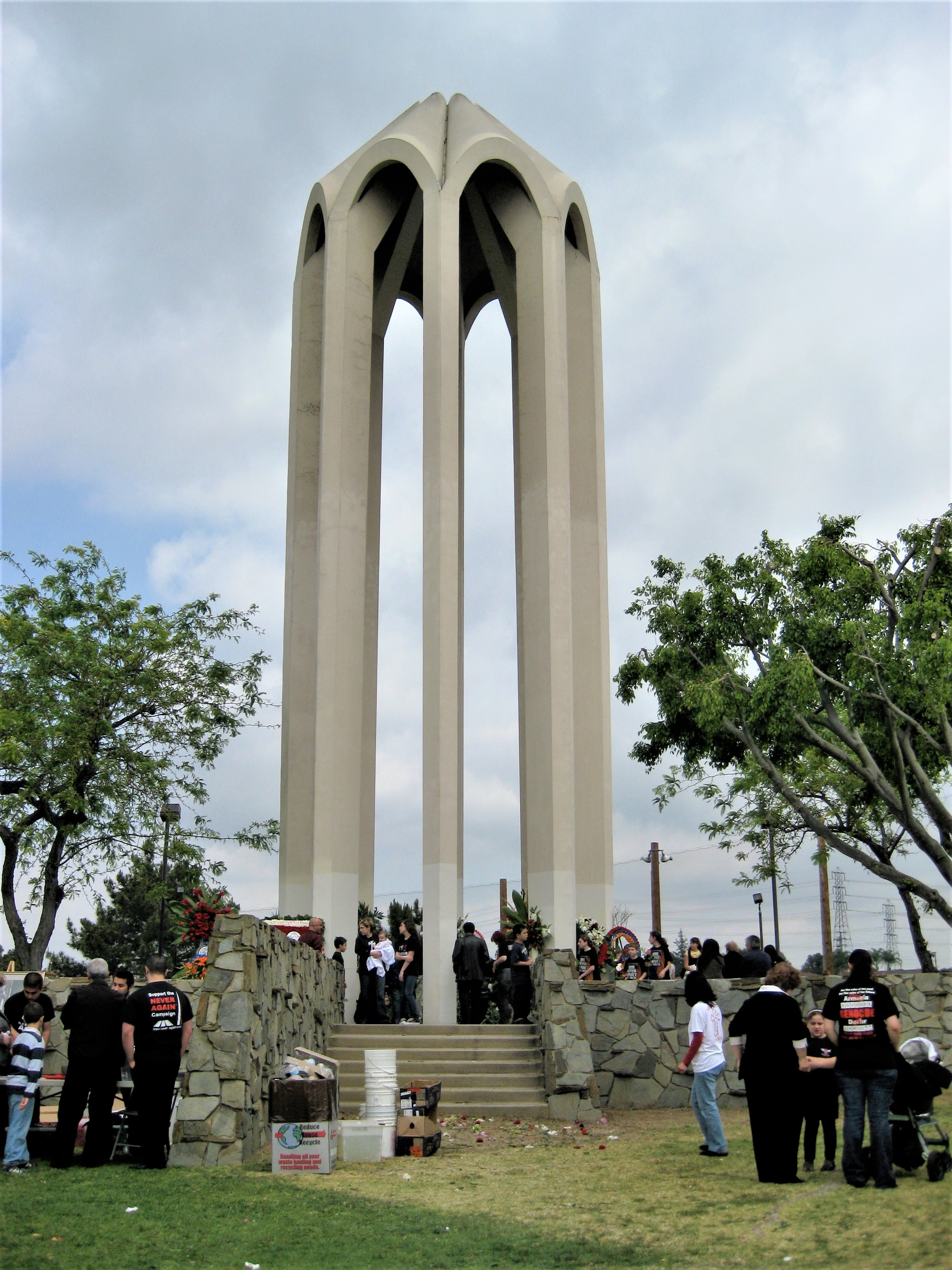 File:Armenian Genocide Memorial, Montebello, California ...