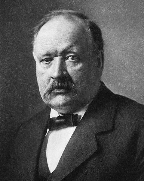 Svante Arrhenius, físico y químico sueco del siglo XIX