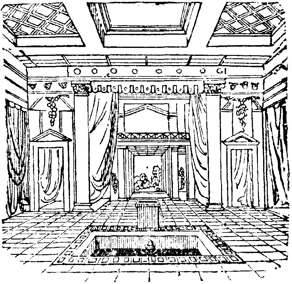 Depiction of Impluvium