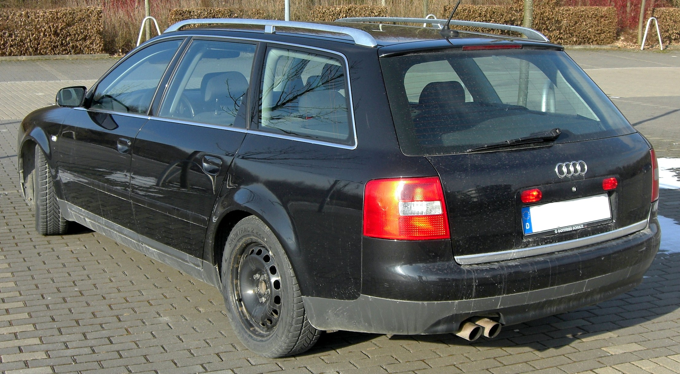 File Audi A6 C5 Avant Rear Jpg Wikimedia Commons
