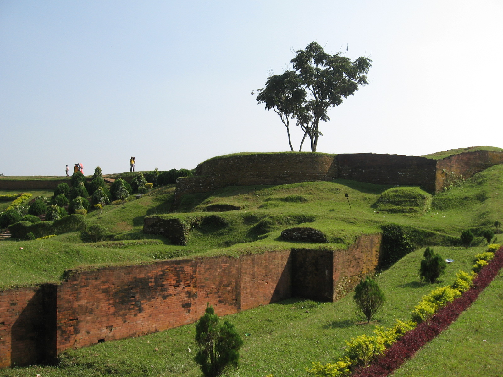 Ramparts of Mahsthangarh