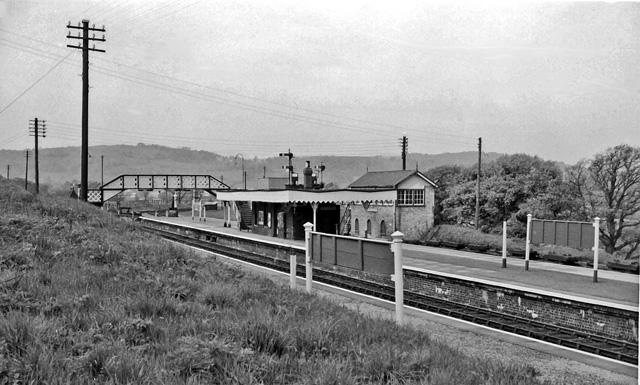3 Llangollen to Bala Jct Cynwyd Corwen Railway Station Photo Carrog GWR.