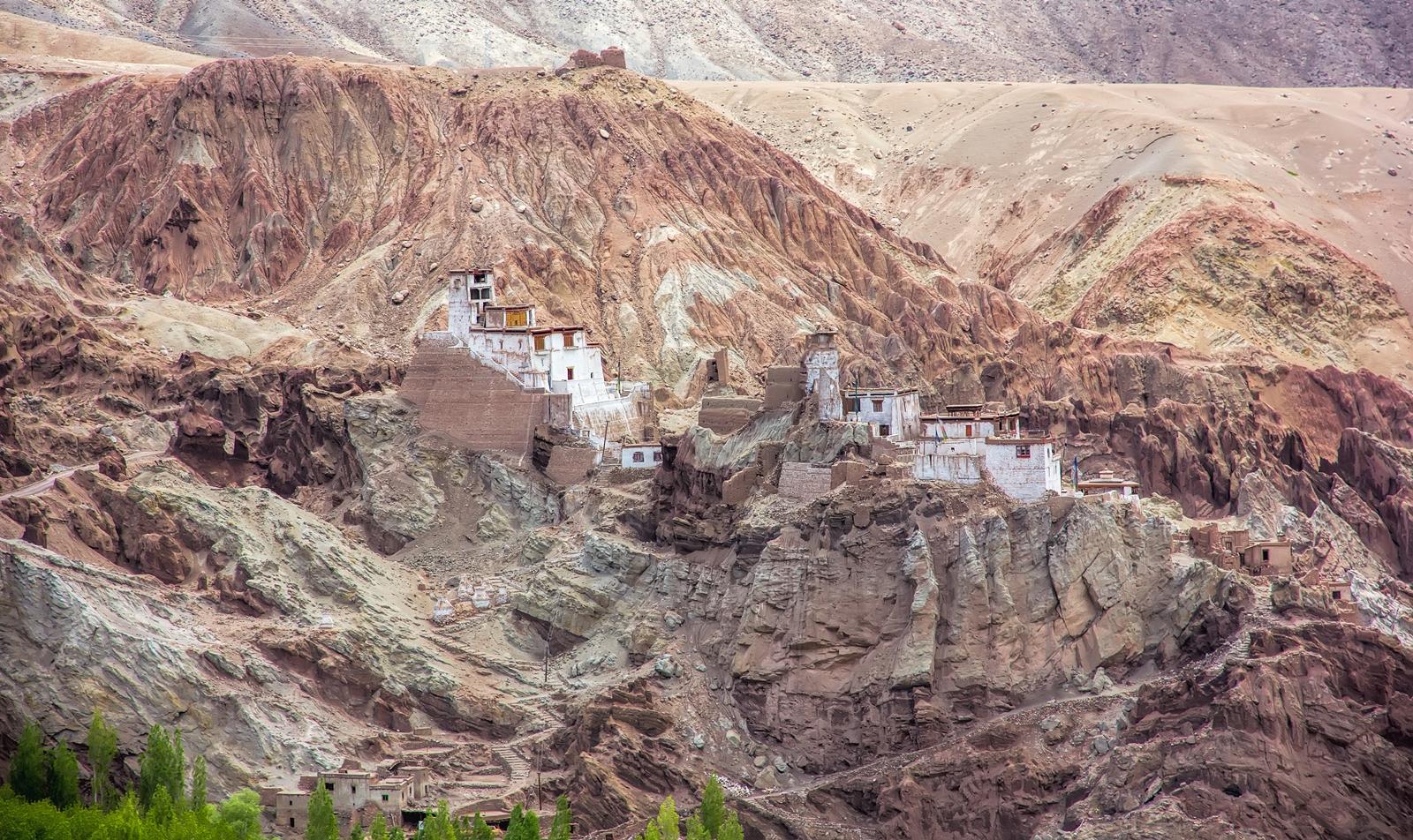 Basgo Buddhist Monastery or Basgo Gompa