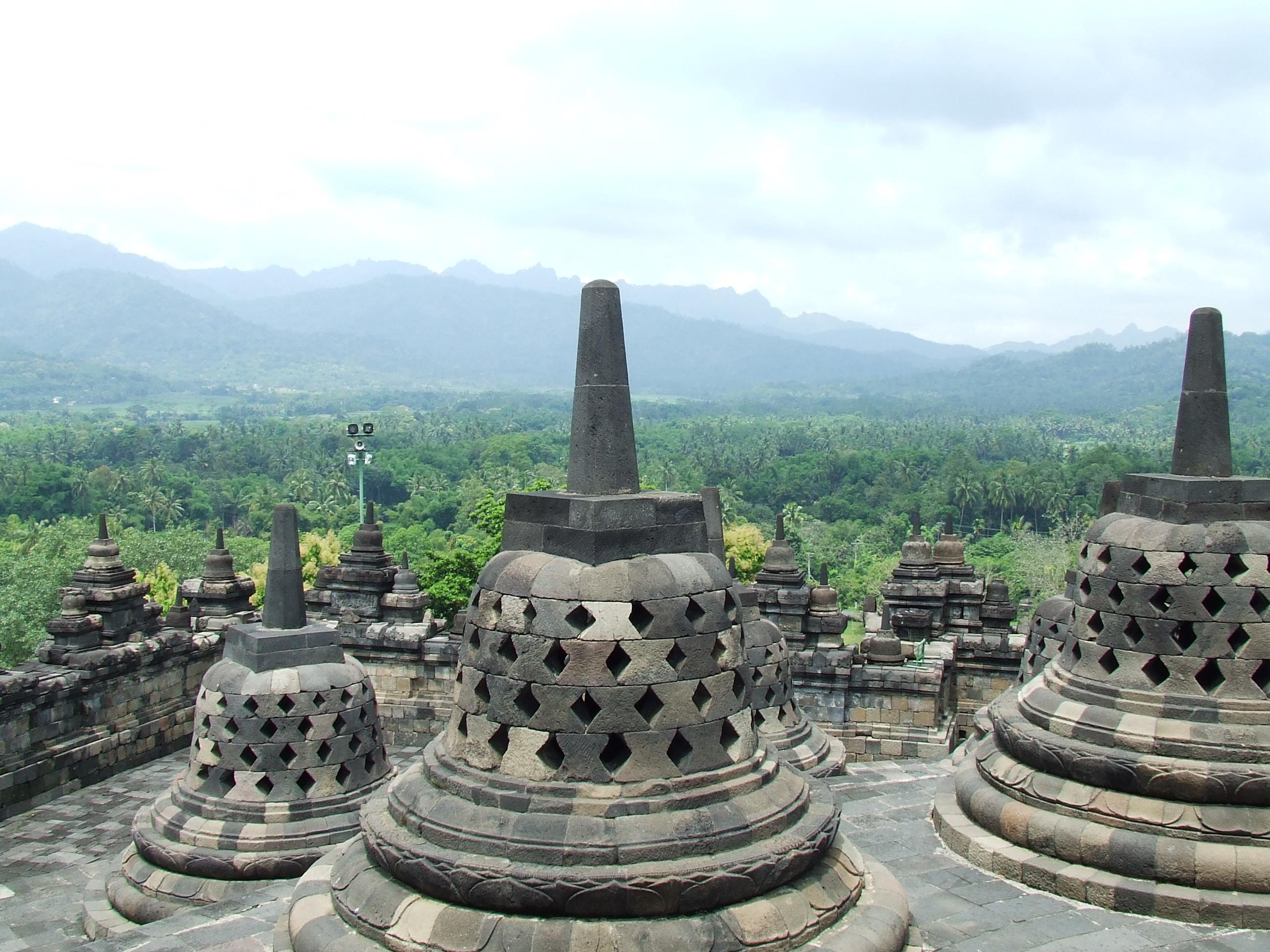Drevna arhitektura Borobudur_2008
