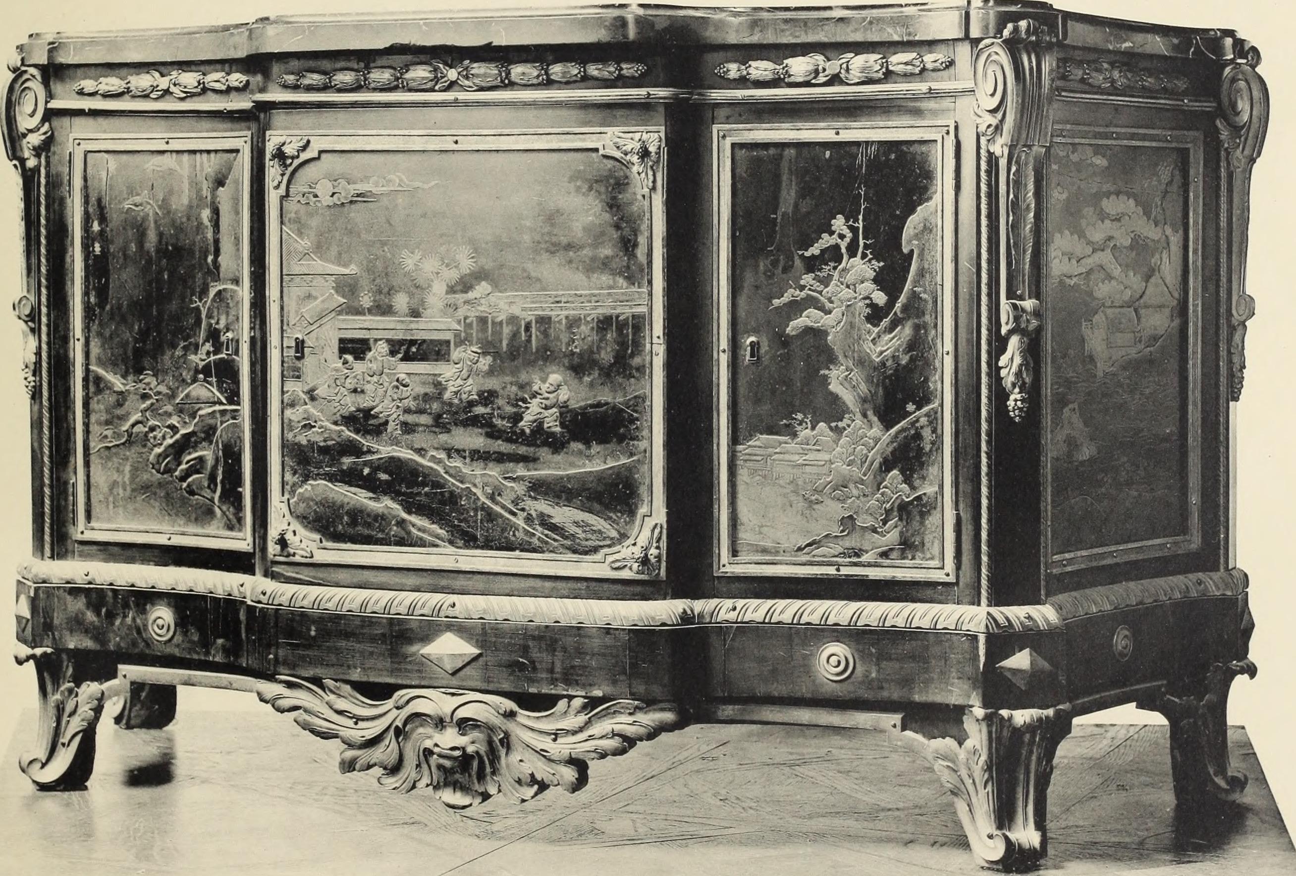 File catalogue des beaux meubles louis xv et louis xvi for Catalogue meuble