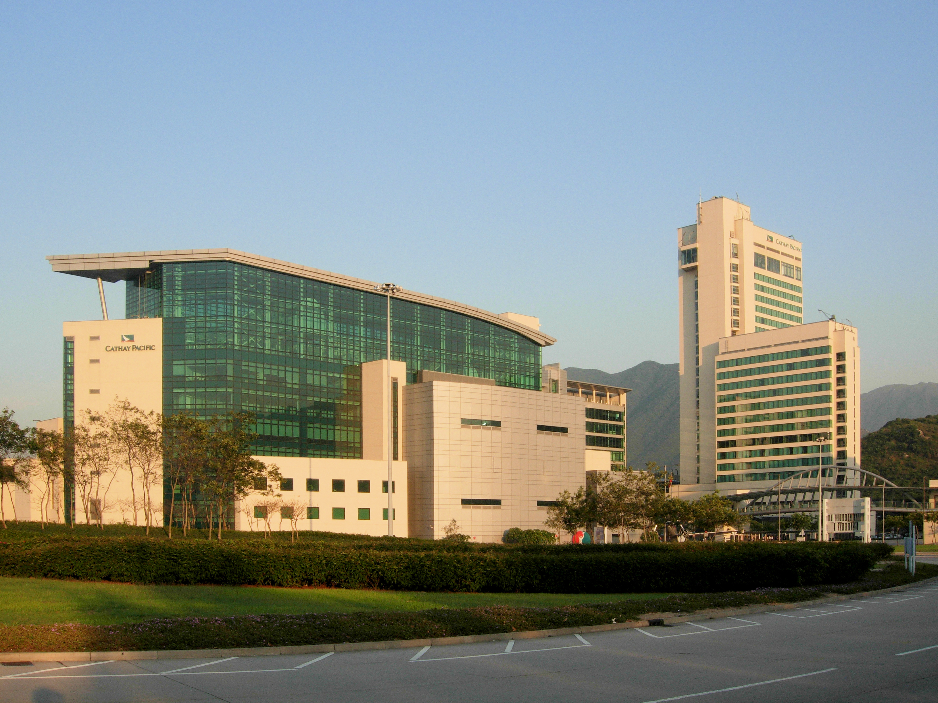 File cathay city jpg wikimedia commons - Cathay pacific head office ...