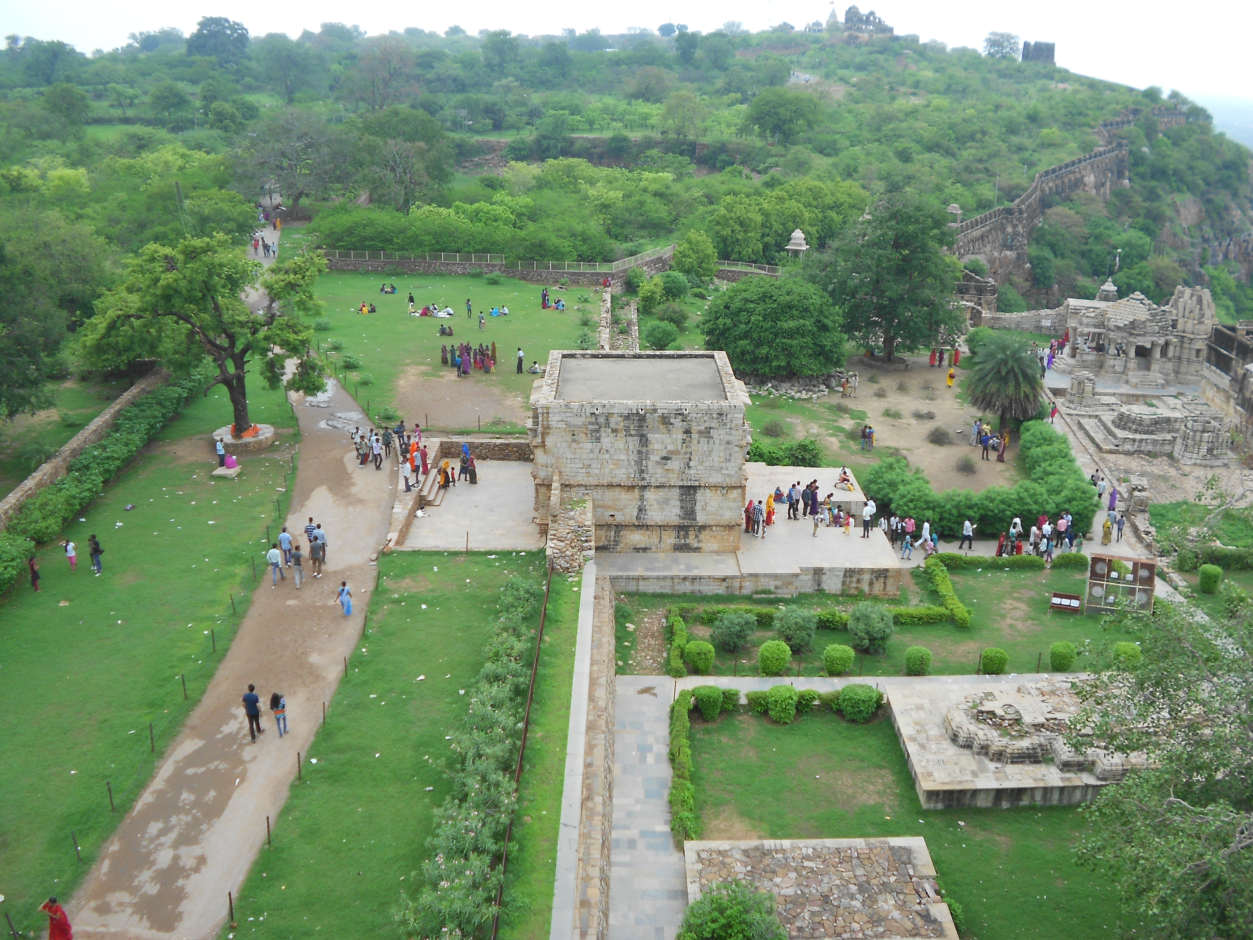 see: Chittorgarh Fort, India