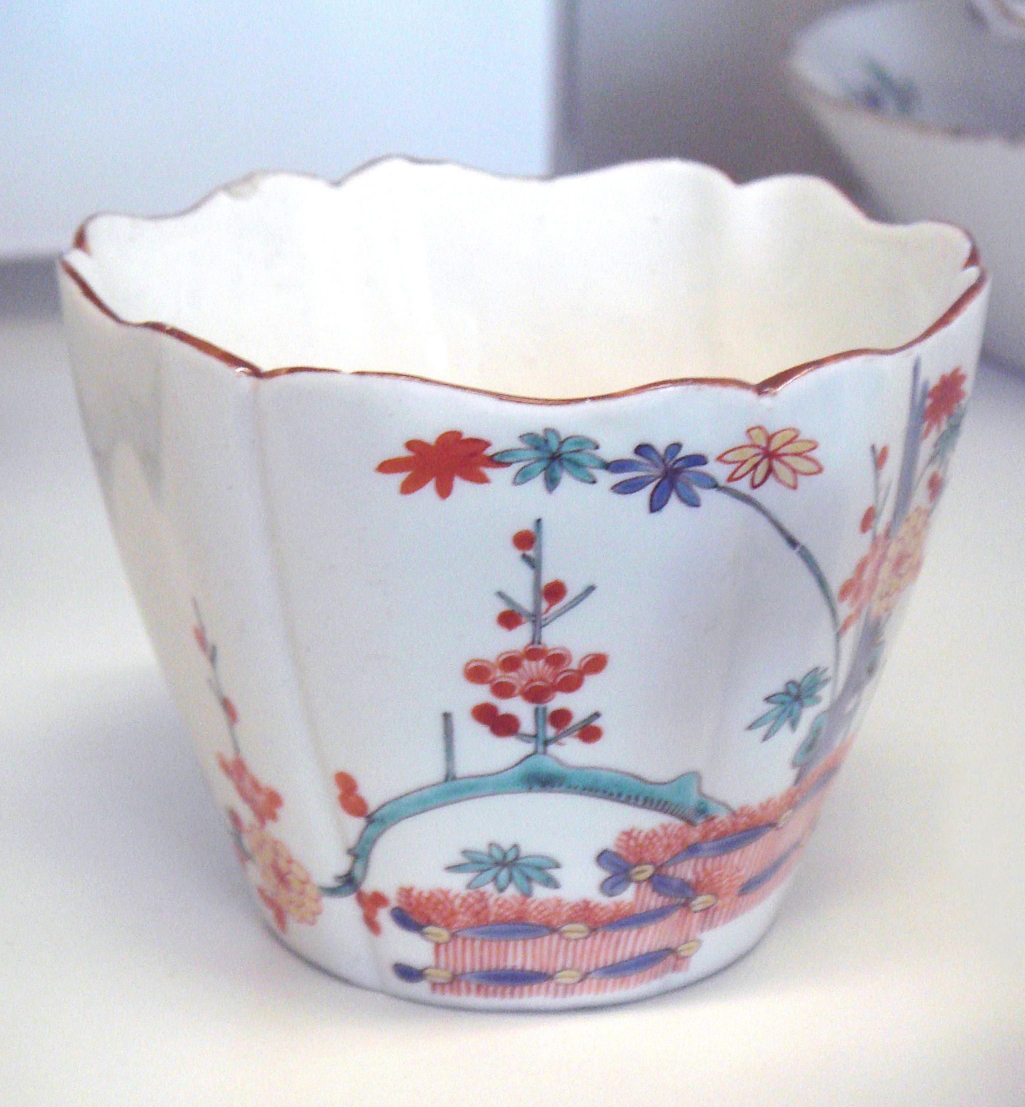 File Chocolate Cup Chantilly Porcelain 18th Century Jpg