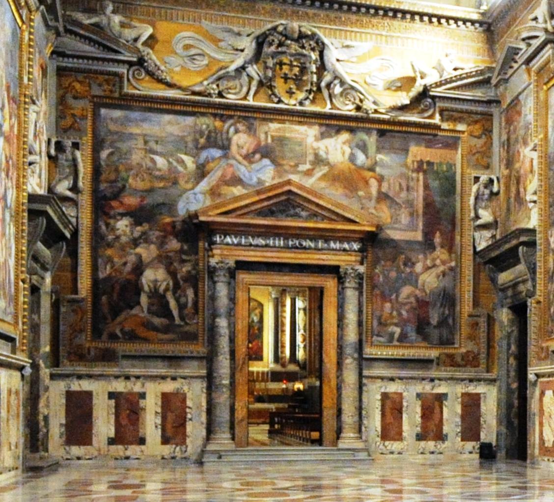 File citt del vaticano sala regia parete meridionale for Parete sala