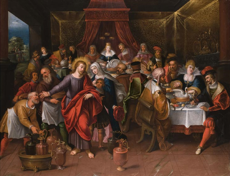 Plik:Cornelis de Bailleur Marriage at Cana.jpg
