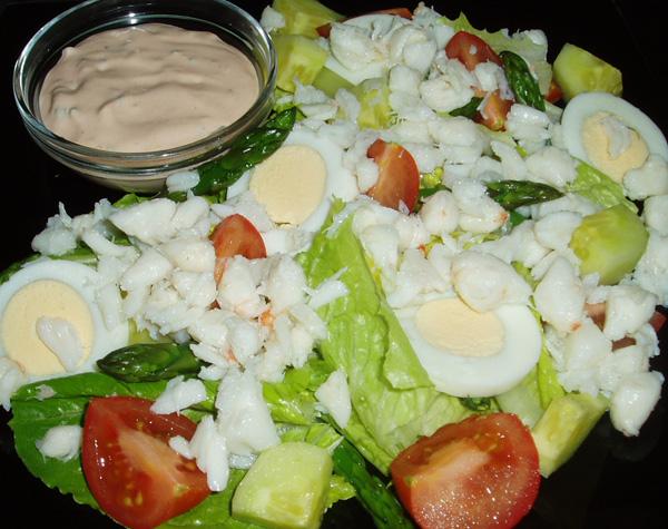 Salad Dressing Crab Cakes