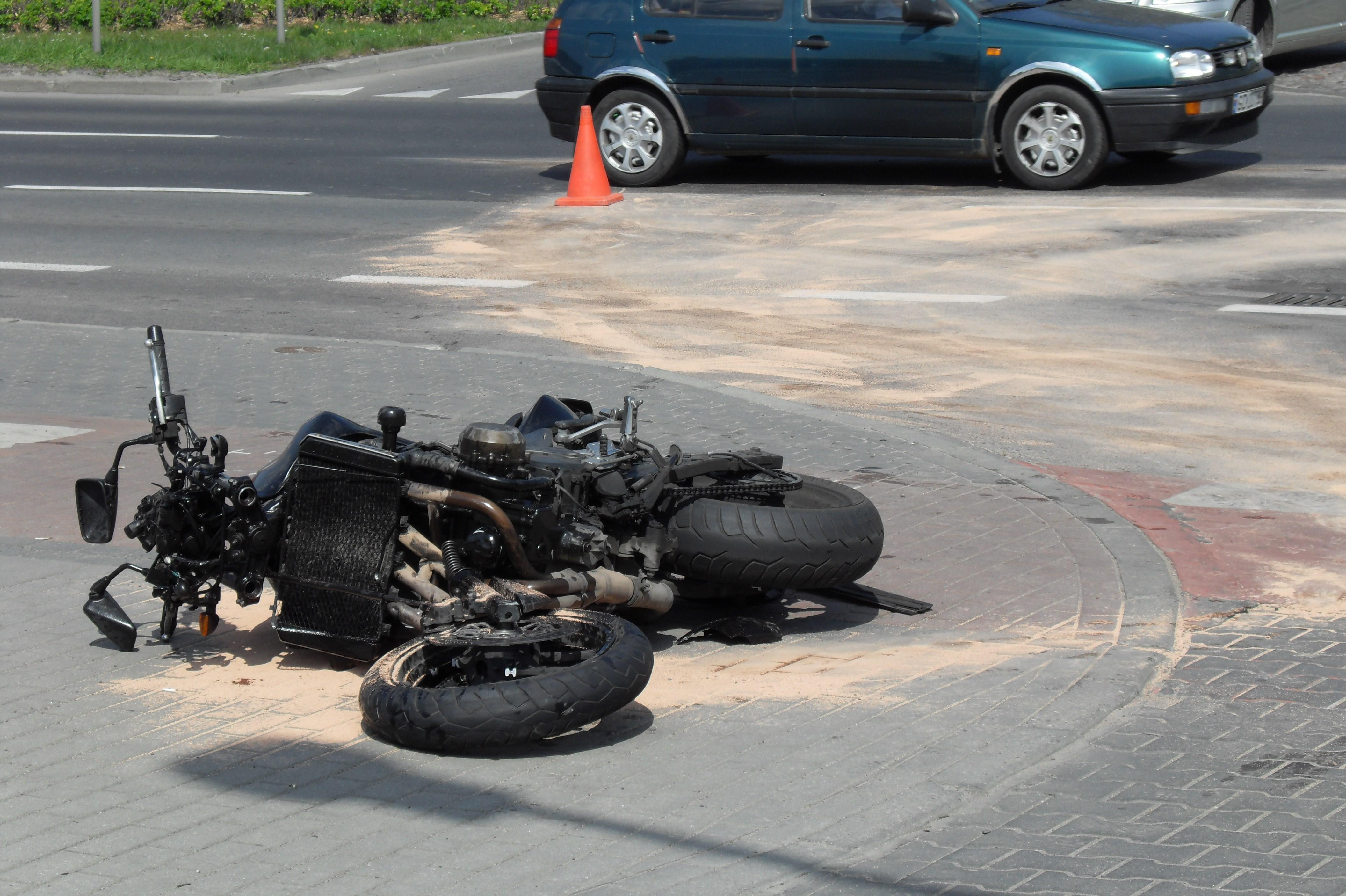 Accident Moto La Ville Aux Dames  Novembre