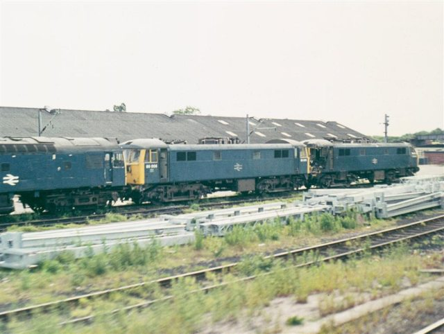 Crewe Electric TMD