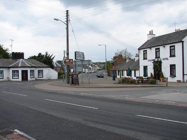 Crocketford or Ninemile Bar - geograph.org.uk - 810717